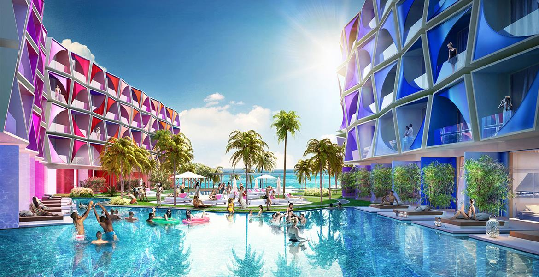 Luxury five-star Hotel Resort.