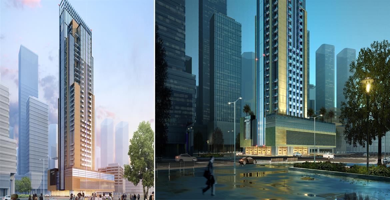 The Square Tower, JVC, Dubai.
