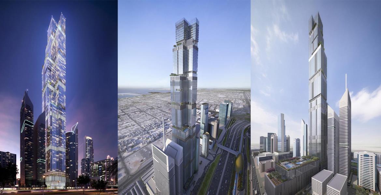 Entisar Tower, Meydan, Dubai