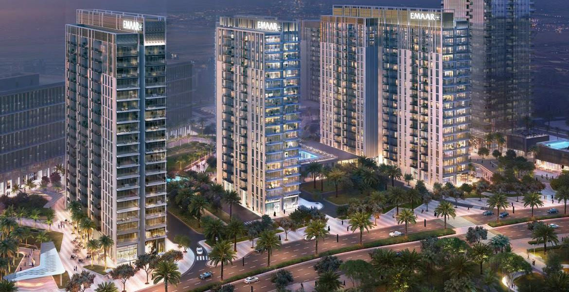 Luxury apartments with 1/2/3 rooms in the heart of Dubai