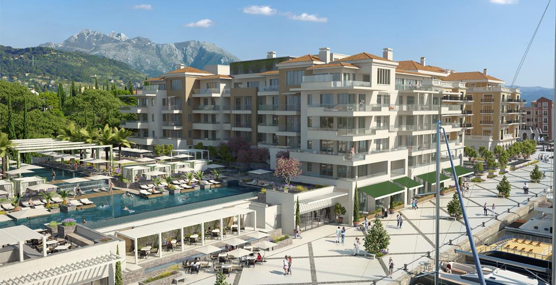 Regent Pool Club Residences, Porto Montenegro