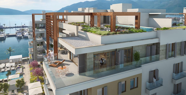 Regent Pool Club Residences Baia, Porto Montenegro