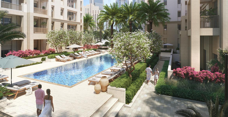 Emaar Sunset Apartments at Creek Beach Dubai