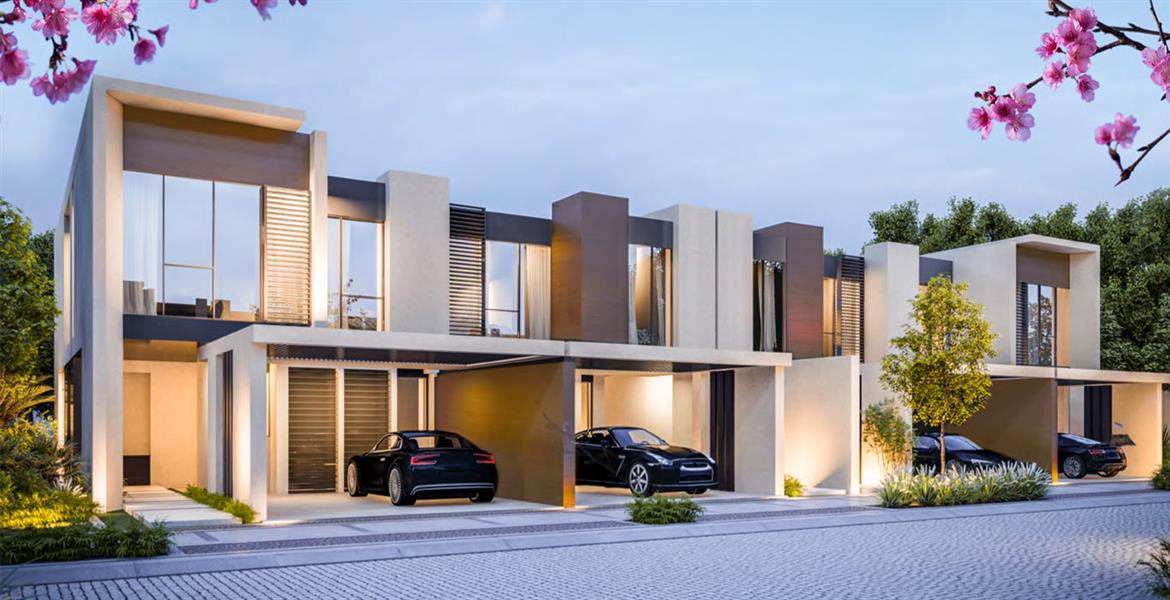 Cherrywoods Townhouses by Meraas Holding in Dubai