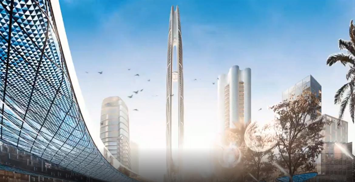Burj Jumeira Tower by Dubai Holding at Jumeirah Central