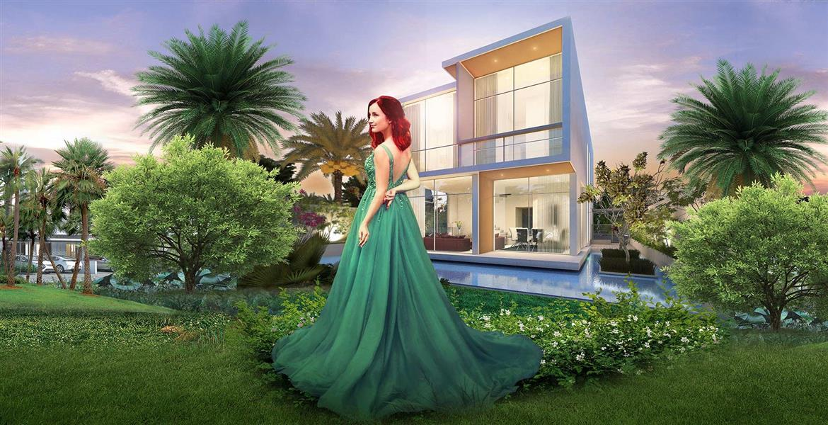 Golf Town at Damac Hills - Ready Apartments & Townhouses