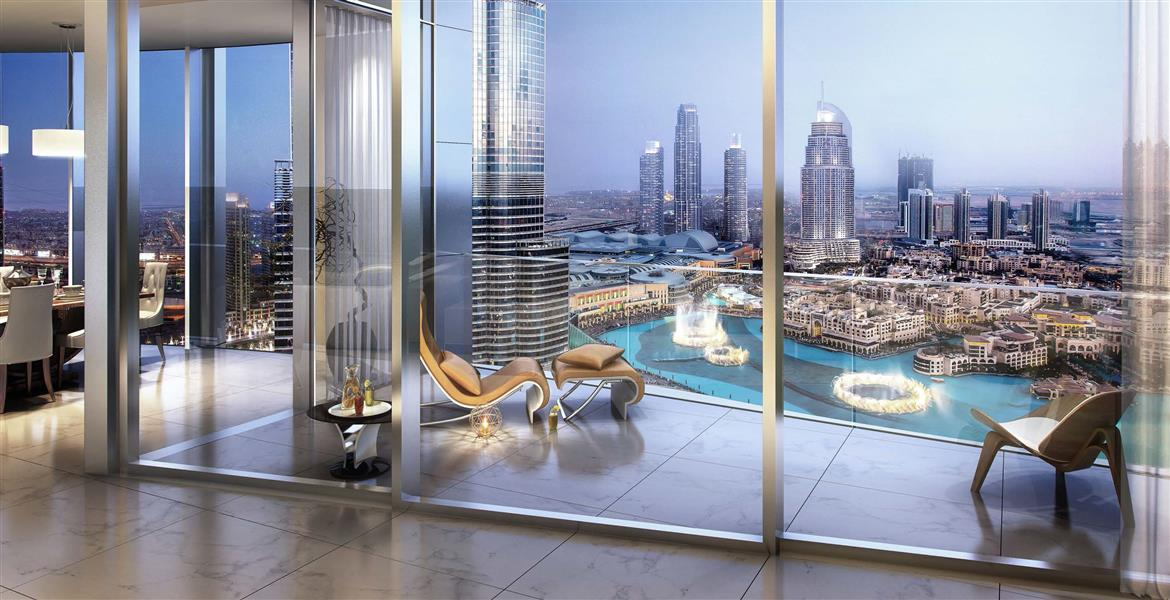 Apartment's Starting Price is around AED 15 M