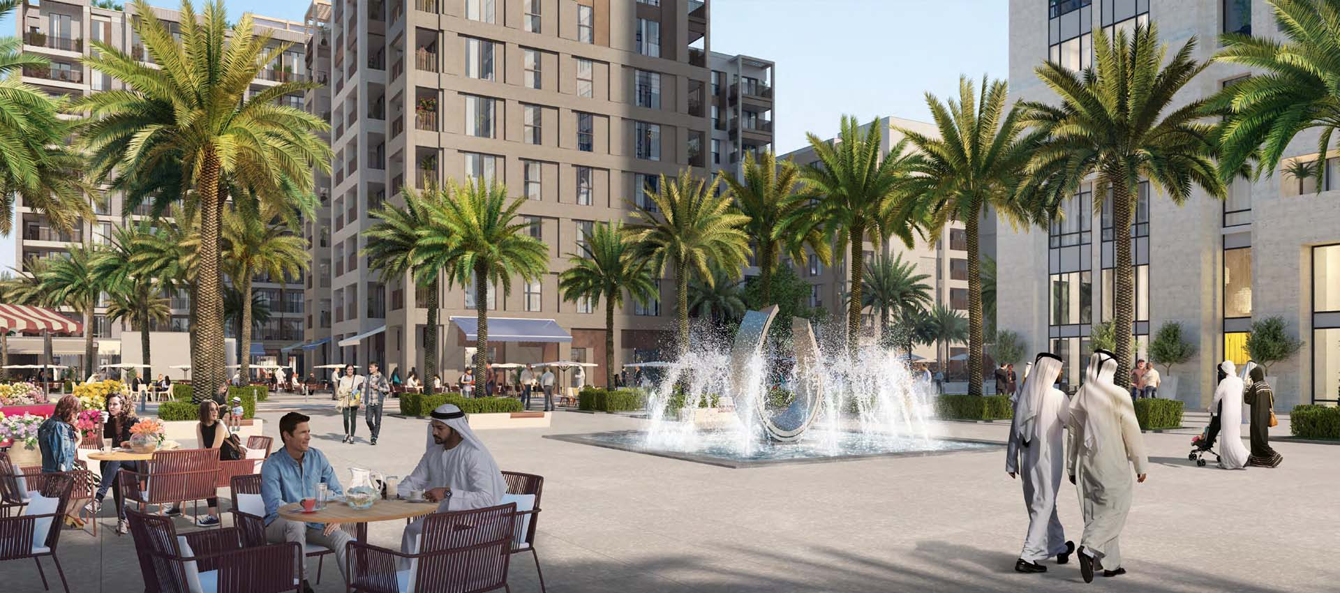 Summer at Creek Beach by Emaar Properties