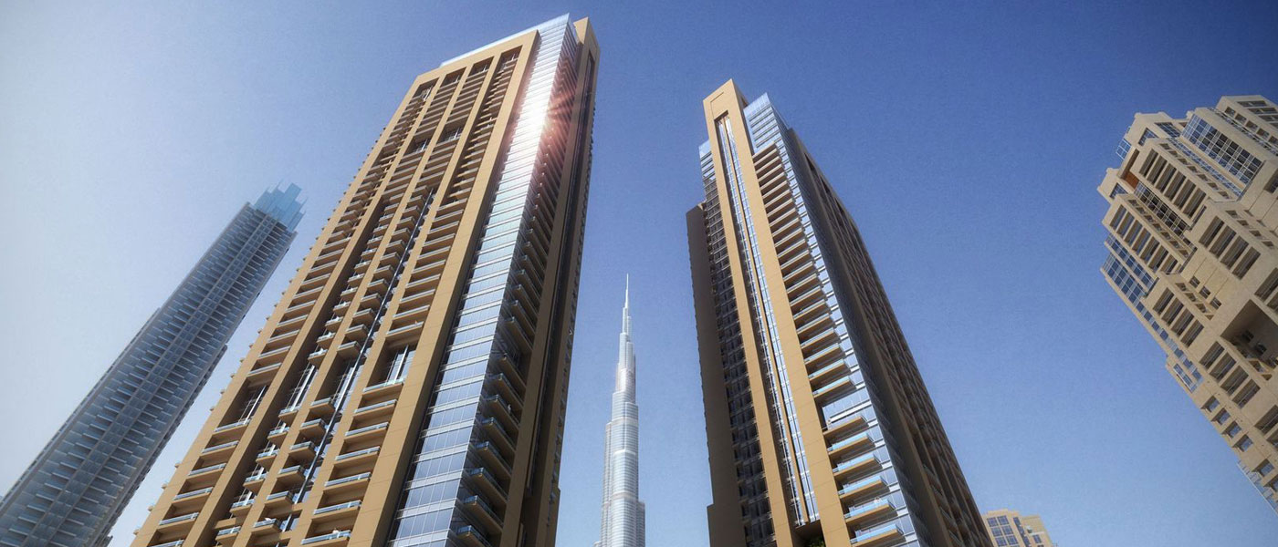 Emaar ACT One & Two Towers at Downtown Dubai