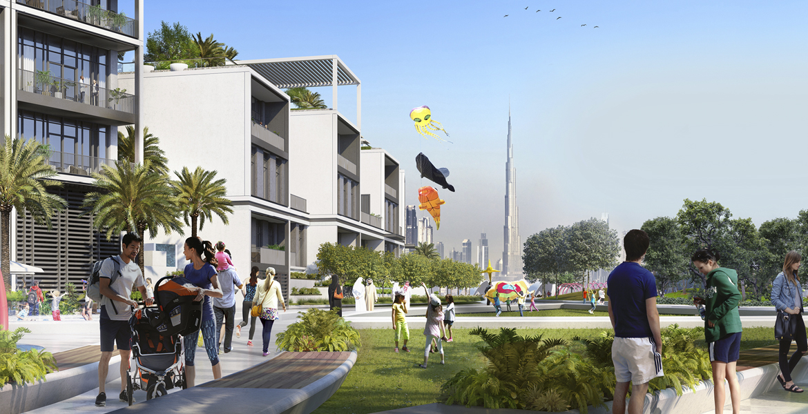 Creek Edge Waterfront Villas by Emaar at DCH, Dubai