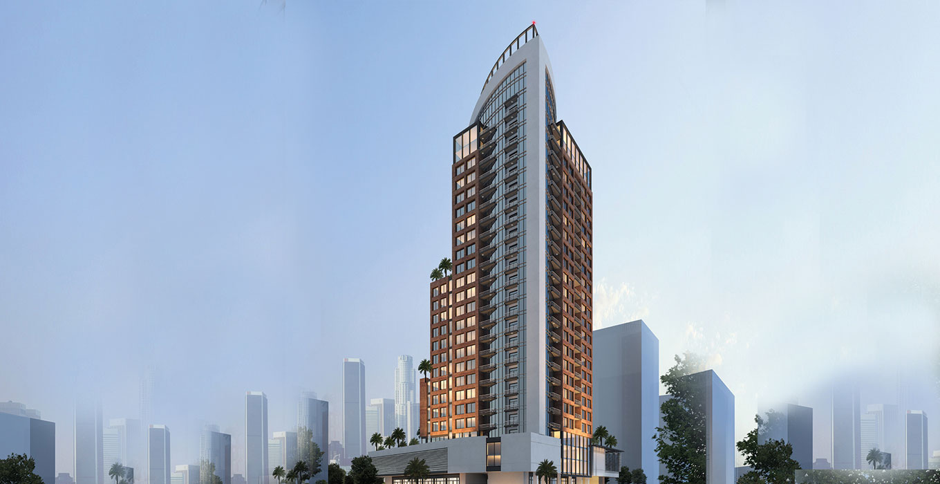 Teyara Tower by Tiger Properties at Dubai, UAE