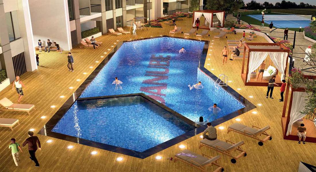 Wavez Residence by Danube in Liwan, Dubai