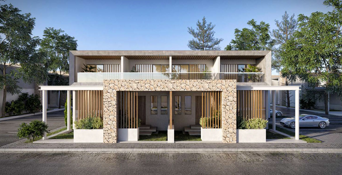 Offering Twin Houses and Townhouses
