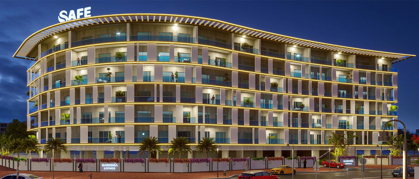 Gardenia Livings by Safe Developers at Arjan, Dubai