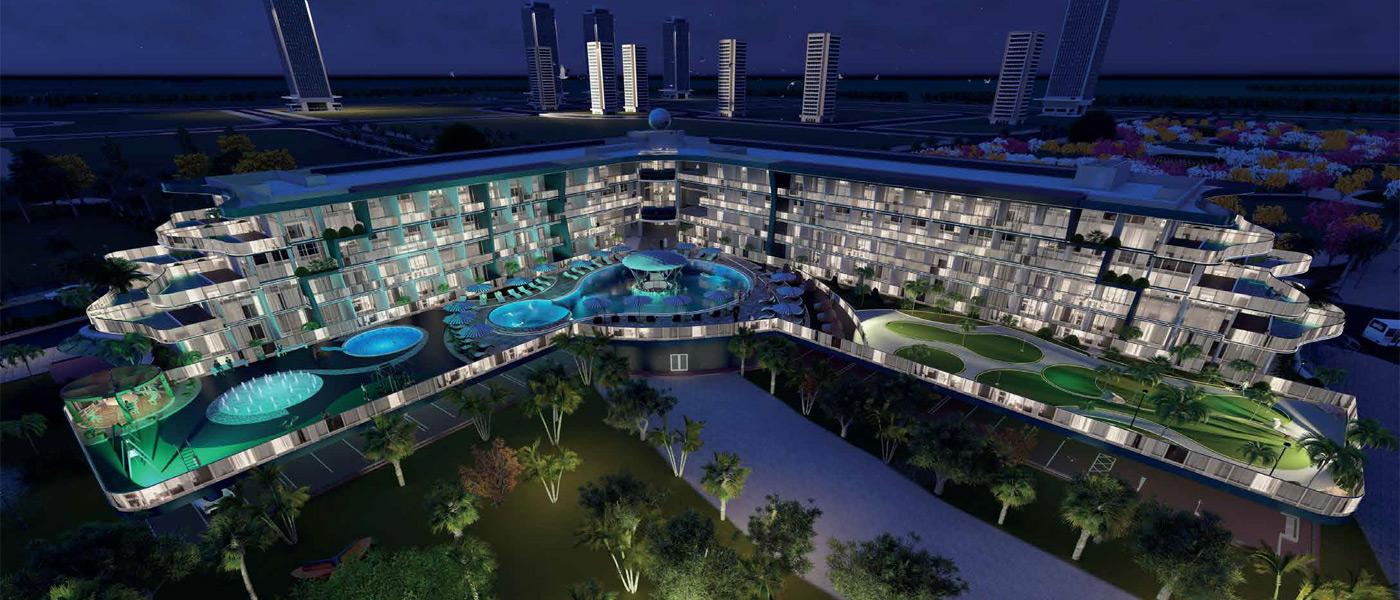 Samana Golf Avenue at Dubai Studio City - Samana Developers