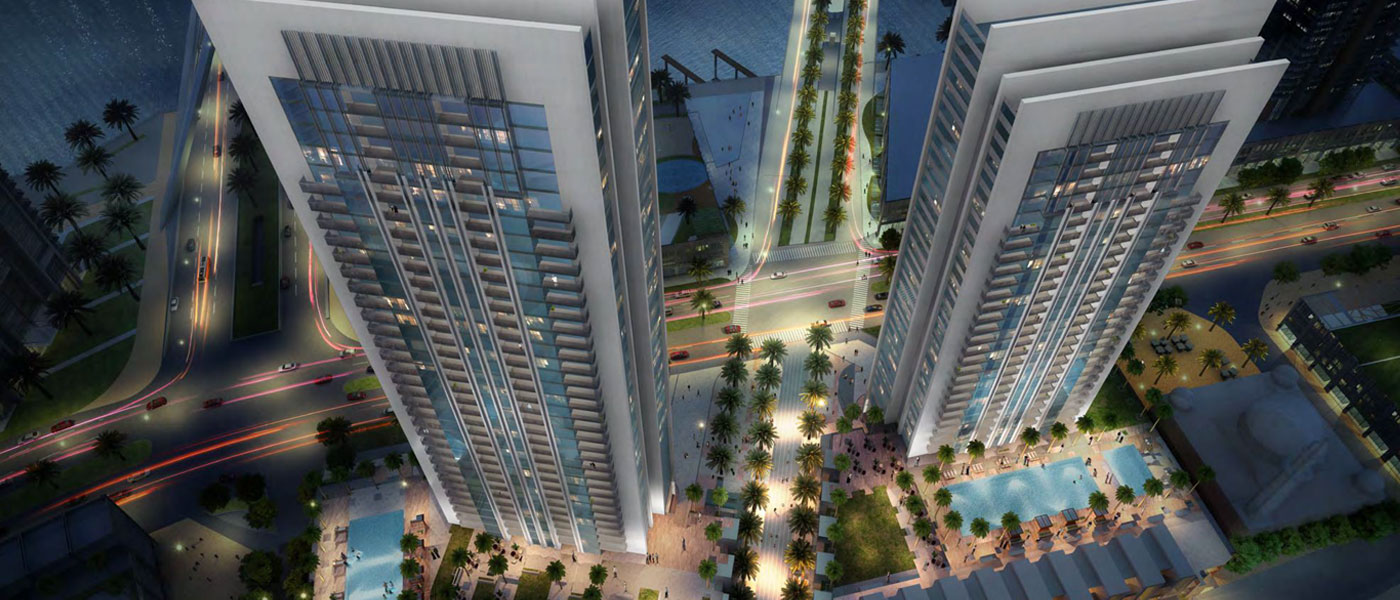 1, 2 and 3 Bedroom Apartments,<div><br></div><div>3 BR Starting From AED 2,537,888</div>