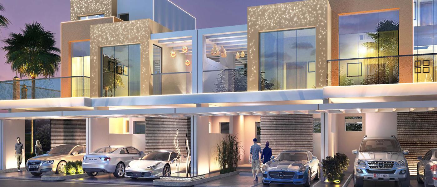 GreenWoods Townhouses at DAMAC Hills, Dubai