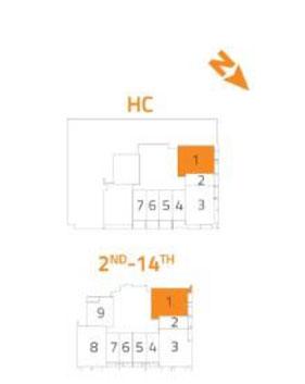 2- Bedroom Type 1