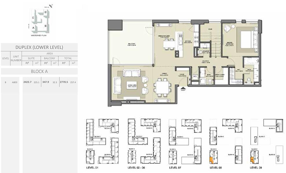 Duplex - Size 2770.5 sq ft