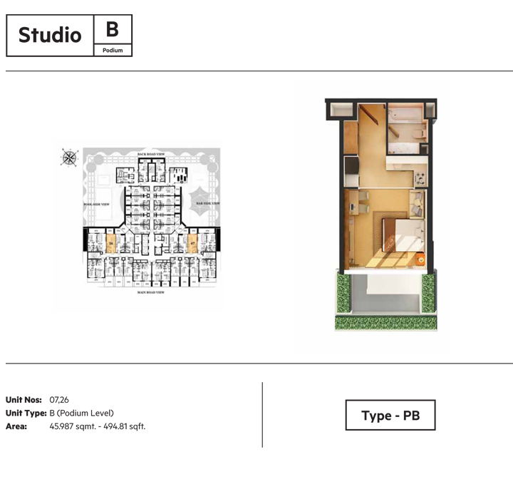 Studio B Type - PB