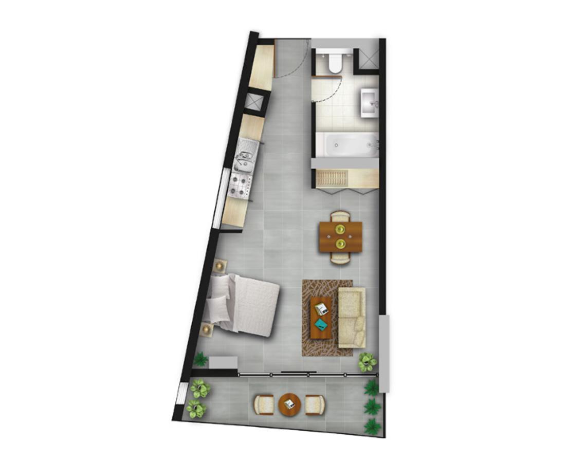 Corner Studio Apartments