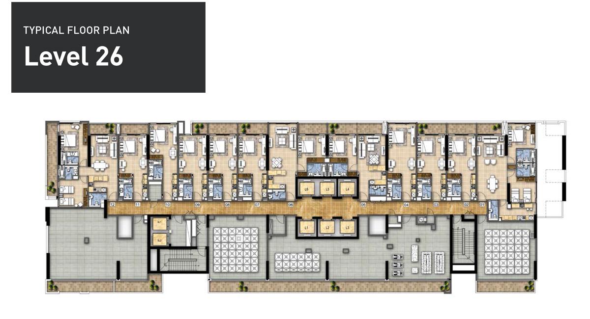 Typical-FloorPlan-Level-26