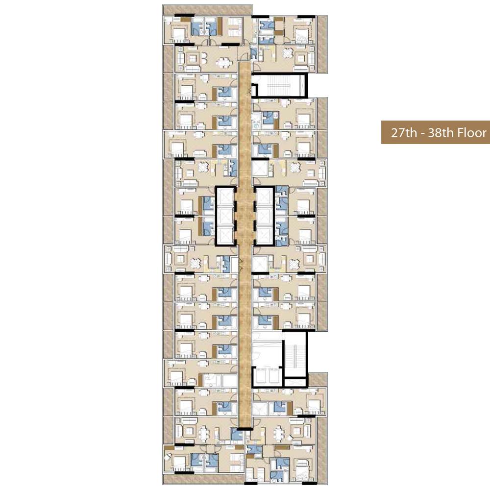 27th-38th-Floor Plan
