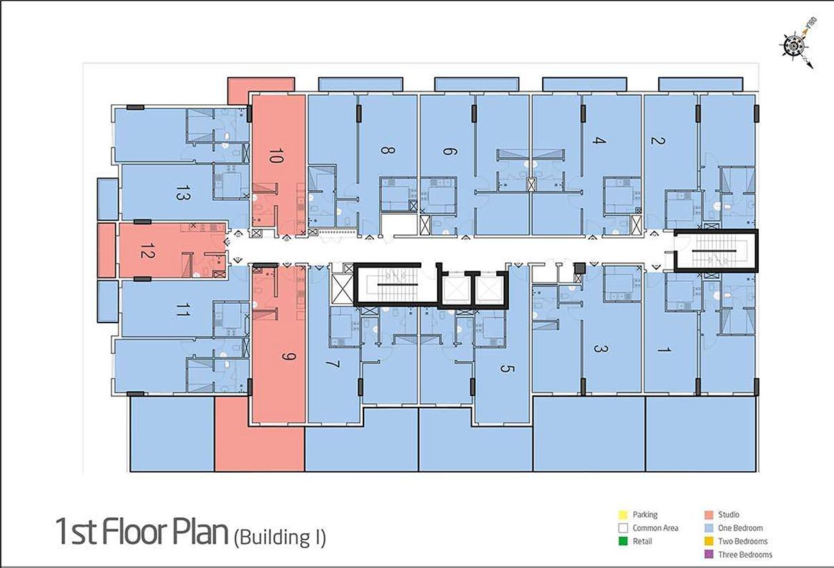 1st Floor - B1