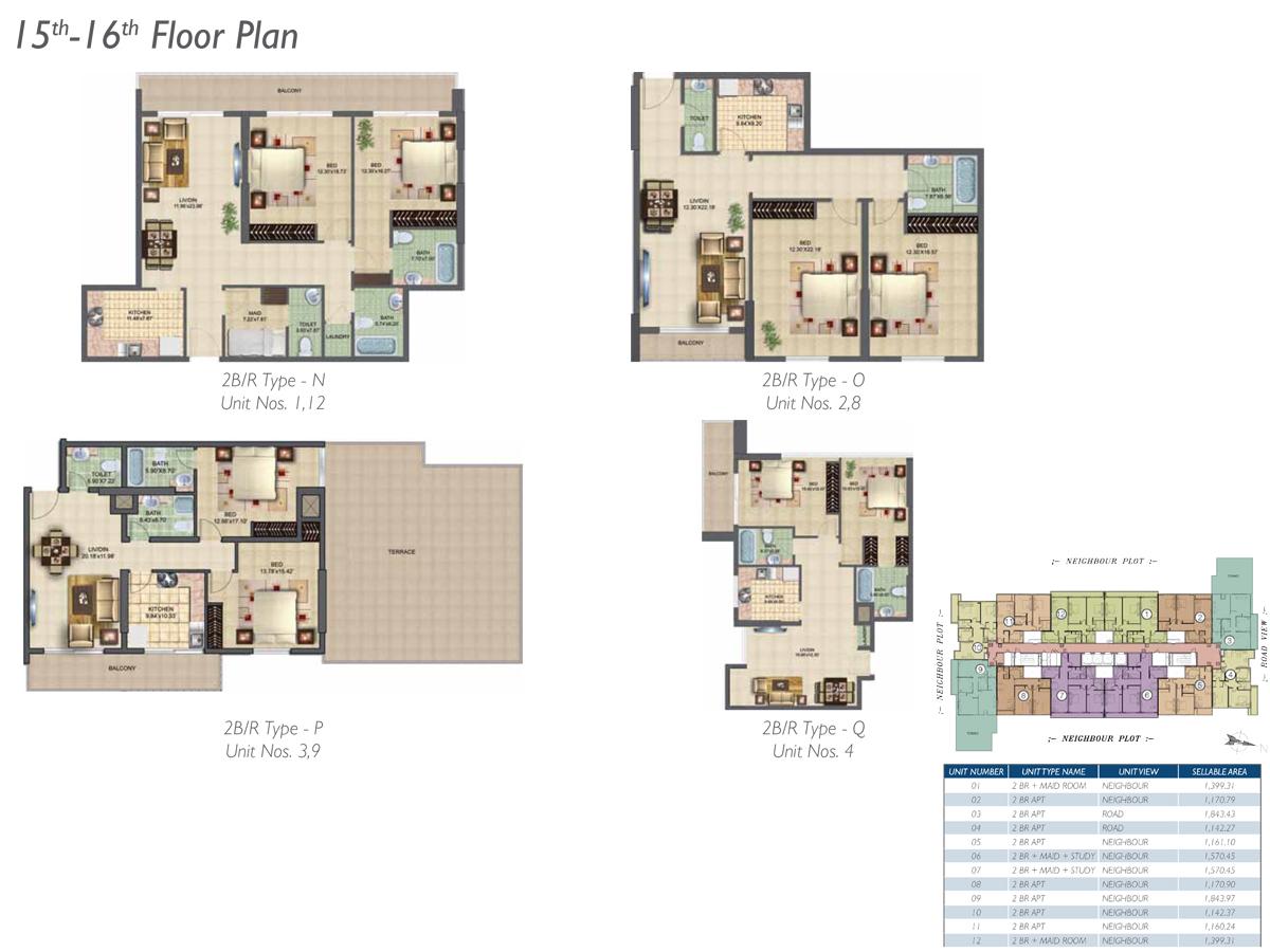 15th-16th-Floor-Type-N-O-P-Q