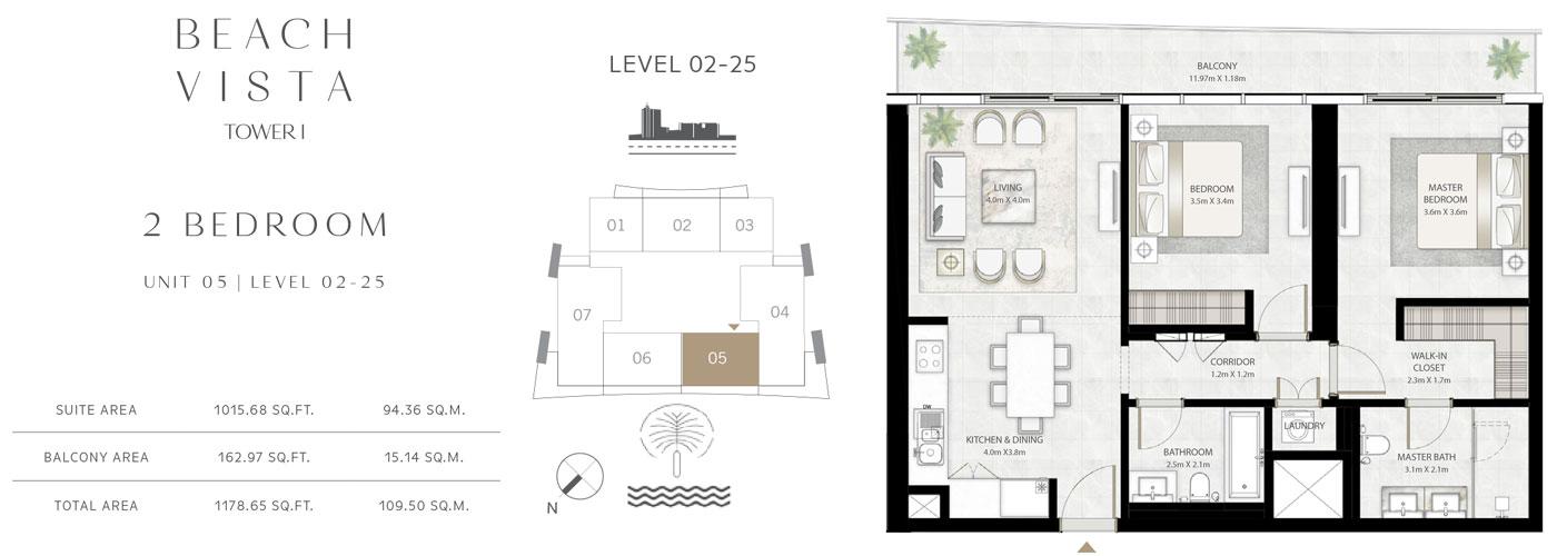 2-Bedroom Unit-5