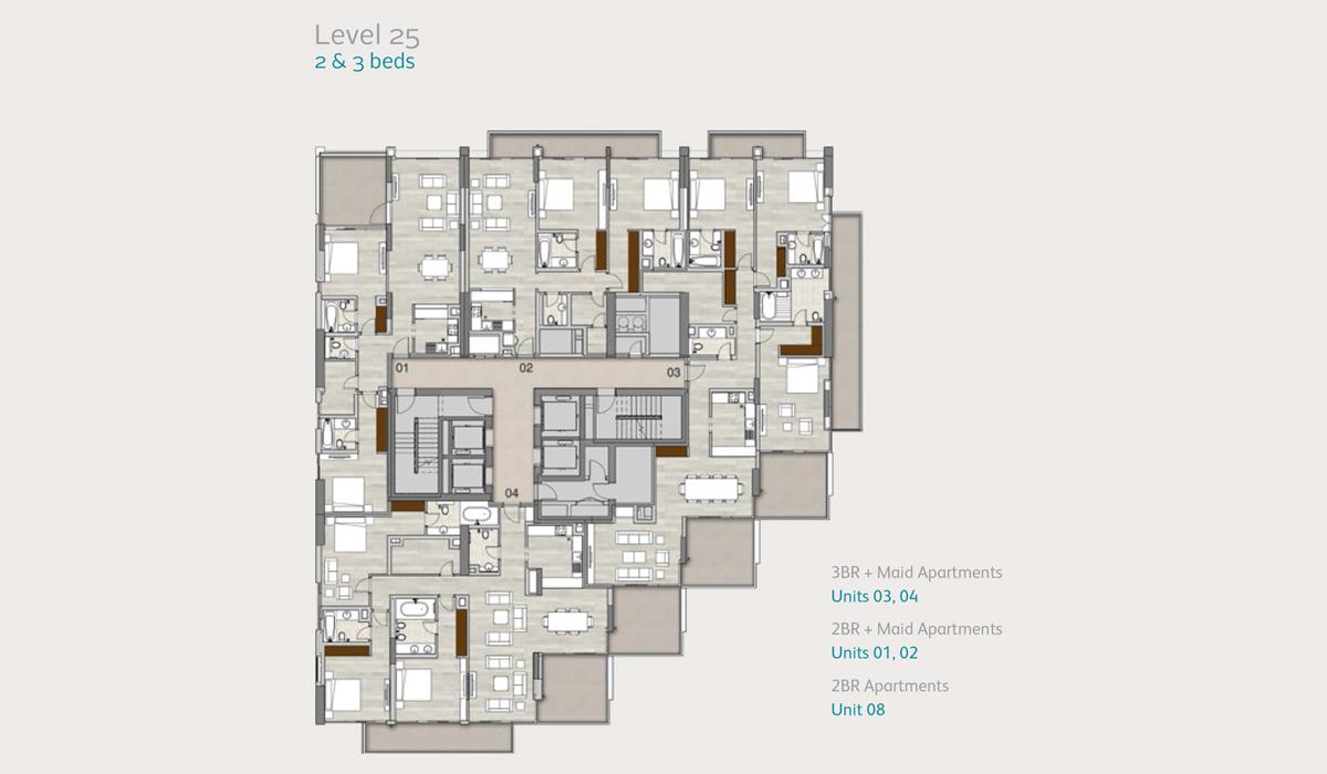 Level-25-2-3-bedroom