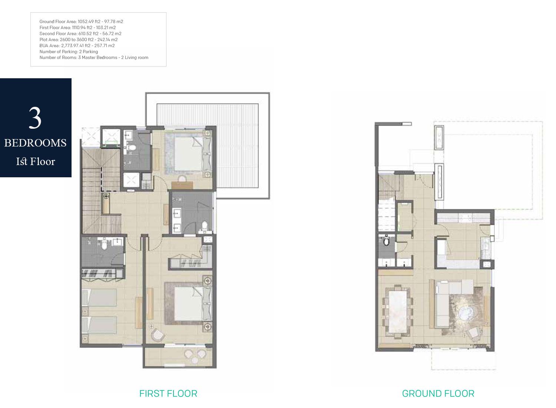 3-Bedrooms-Floor-1,-BUA-Area-2773.97-sq.ft