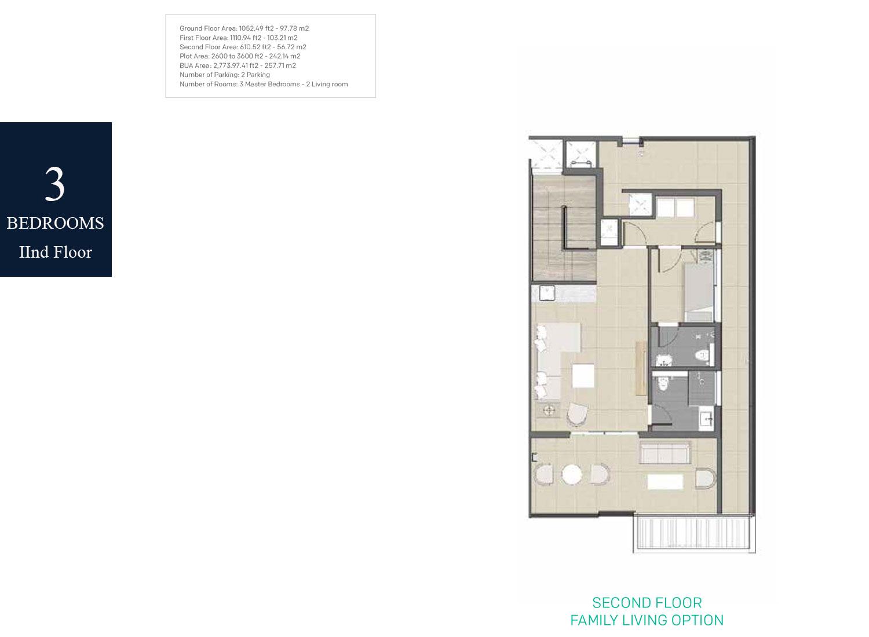 3-Bedrooms-Floor-2,-BUA-Area-2773.97-sq