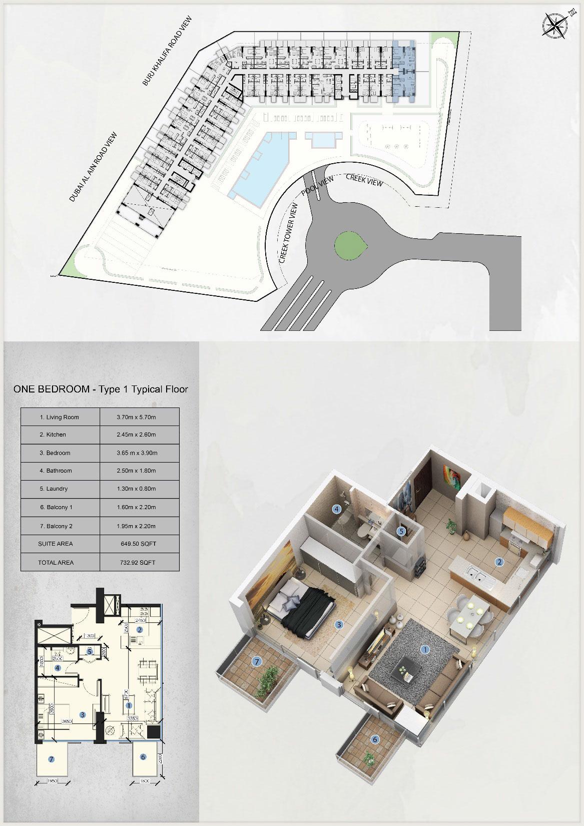 1-Bedroom-Type-1-Typical-Floor