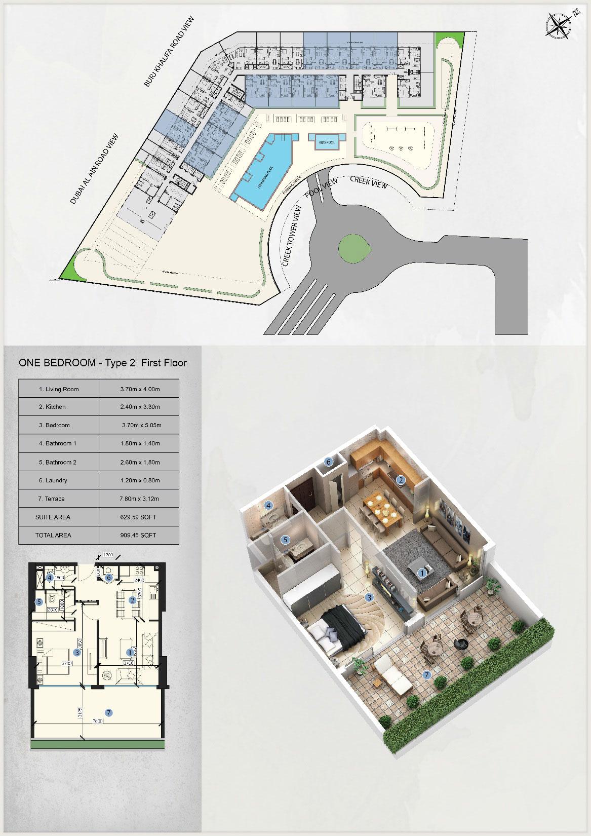 1-Bedroom-Type-2-First-Floor