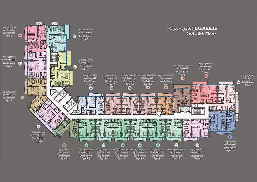 2nd-4th-Floor-Plan