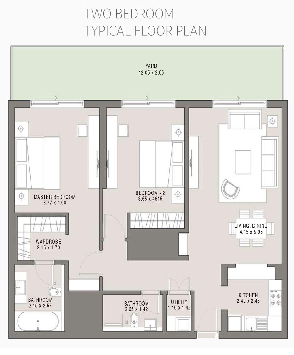 2BDR-Tpical-Floor-Plan