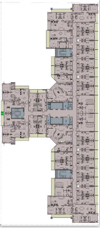Azizi Star - Floor Plan