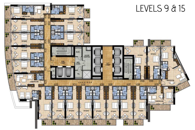 Level-9,-15