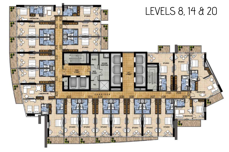 Levels-8,14,20