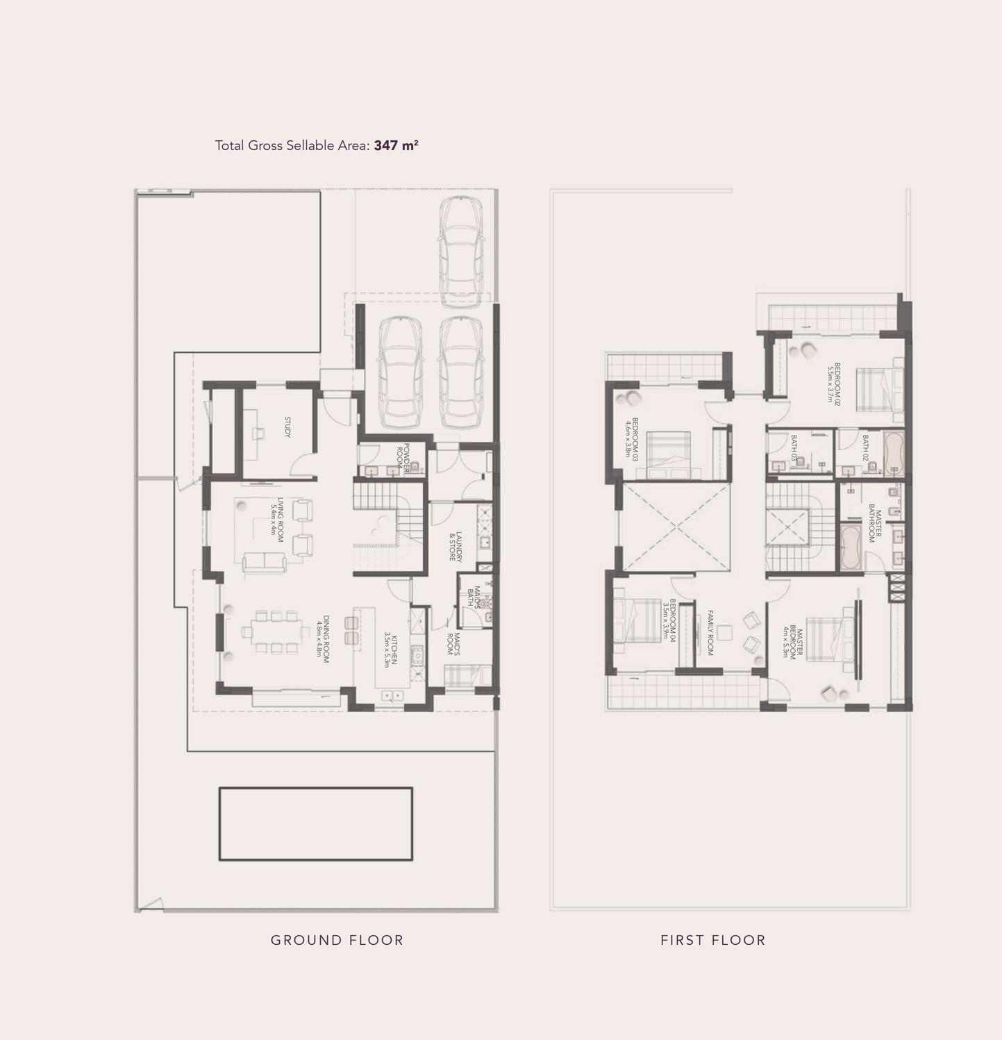 4-bed-Semi-Detach-Villa