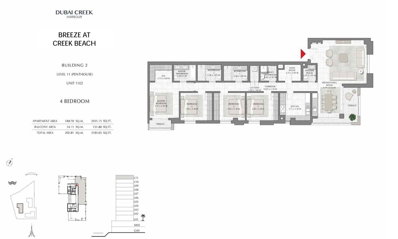 Bu2-L11-pen-4bd-2183.03-sqft