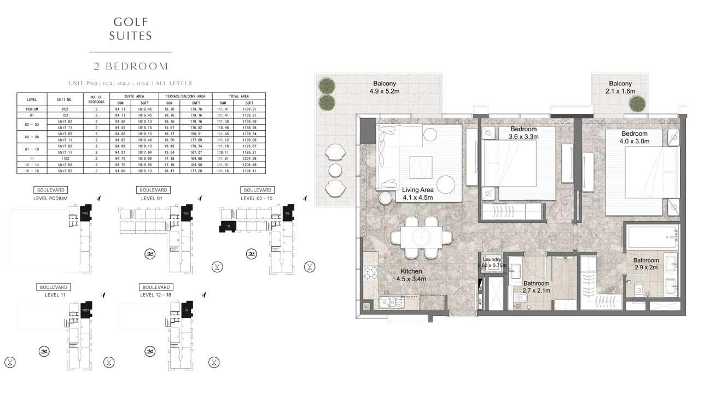 2 Bedroom Unit-P-02-102-02-11-110-2-All-Levels