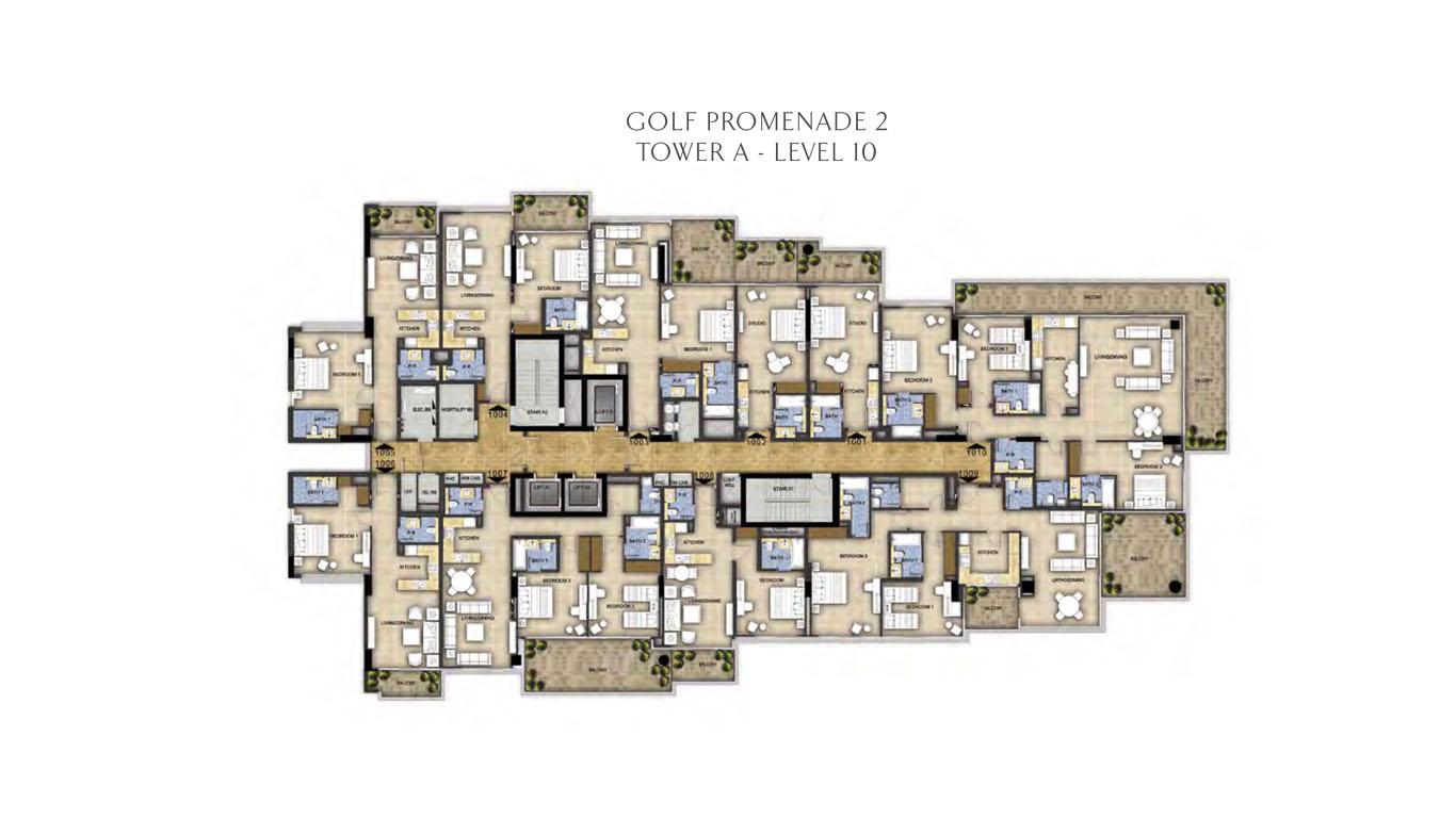 Tower A - Level 10 Golf Promenade 2
