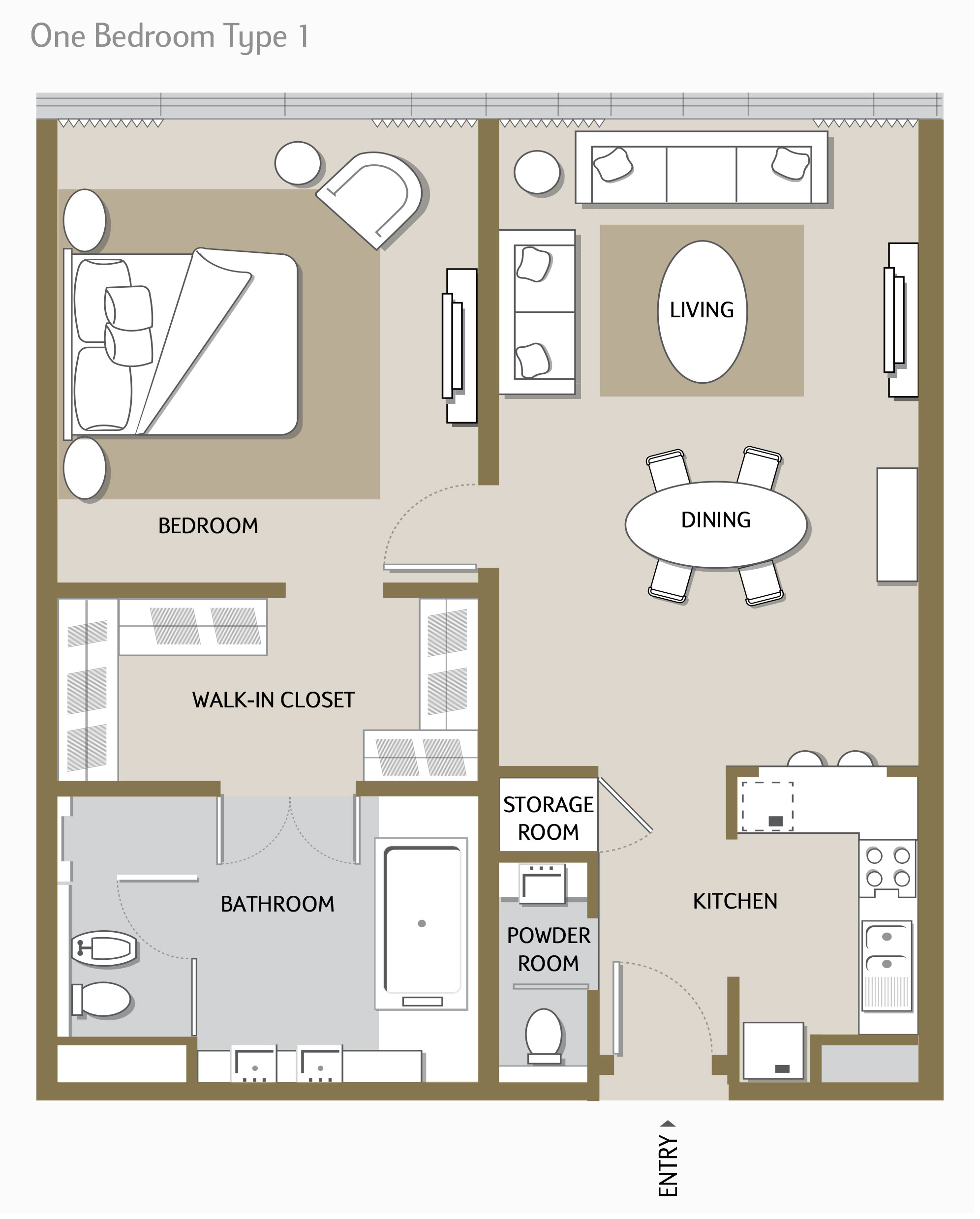 One-Bedroom-Type-1