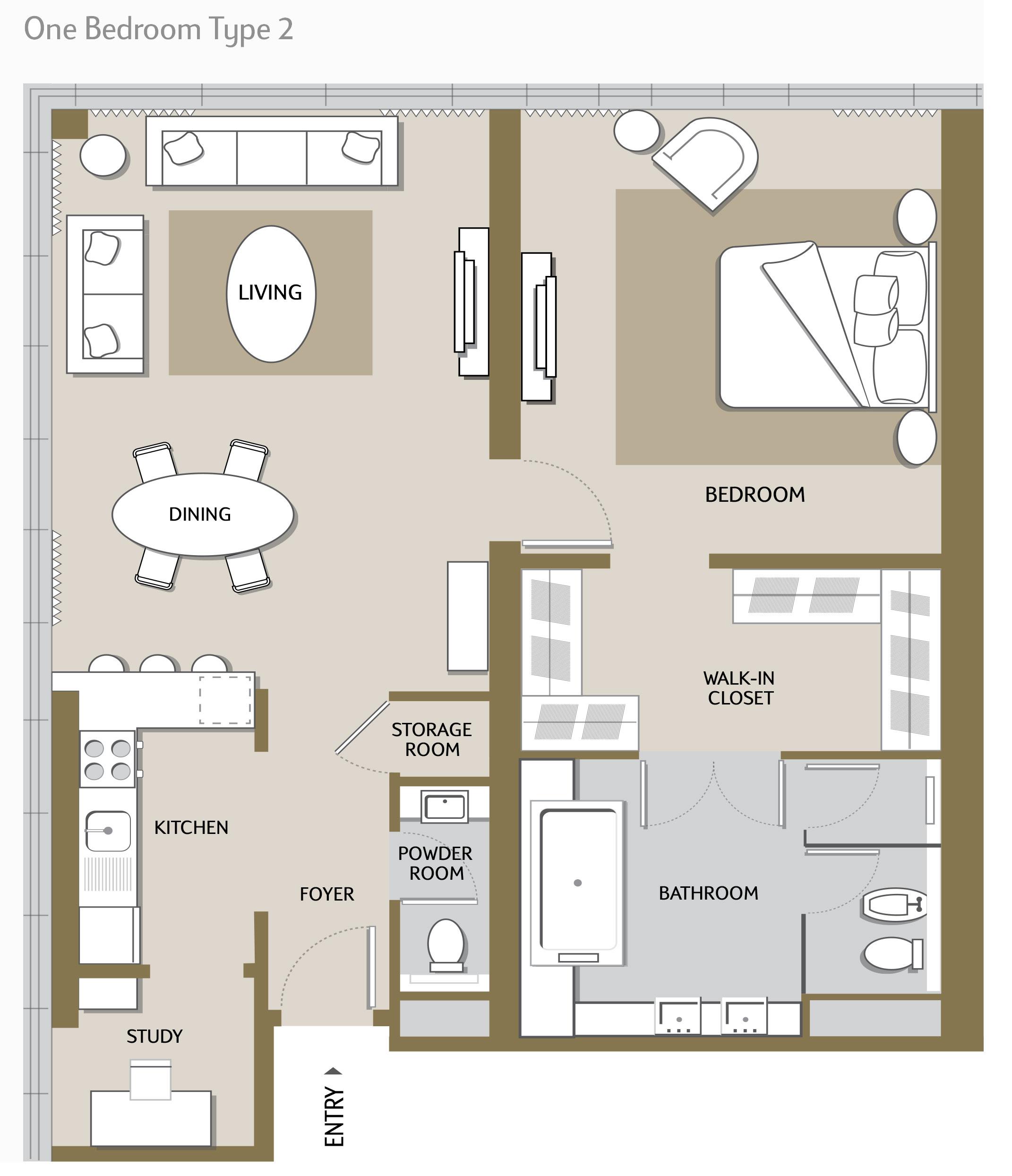 One-Bedroom-Type-2