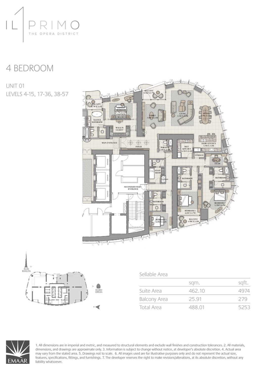 4 Bedroom unit-1