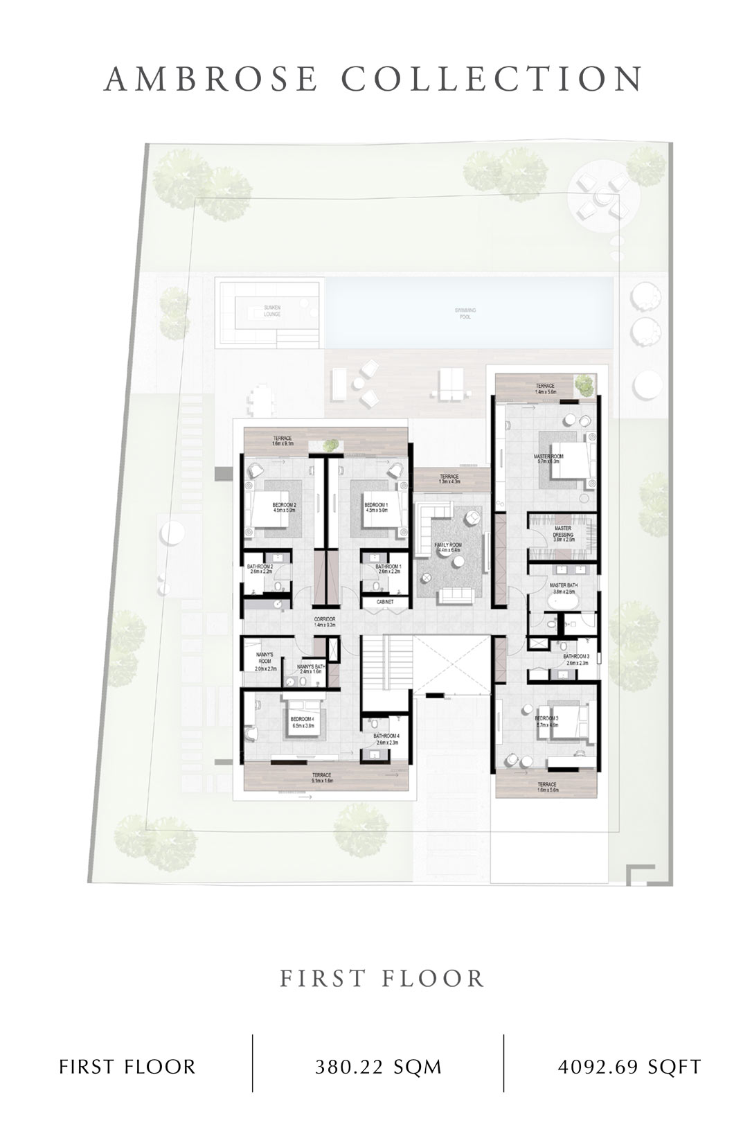Ambrose-Collection-First Floor, Size 4092 Sq Ft