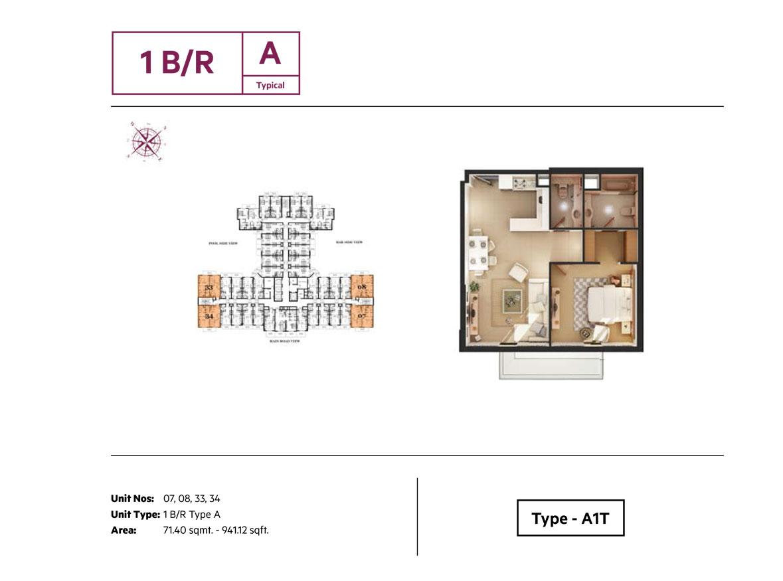 Azizi Roy Mediterranean - Floor Plan