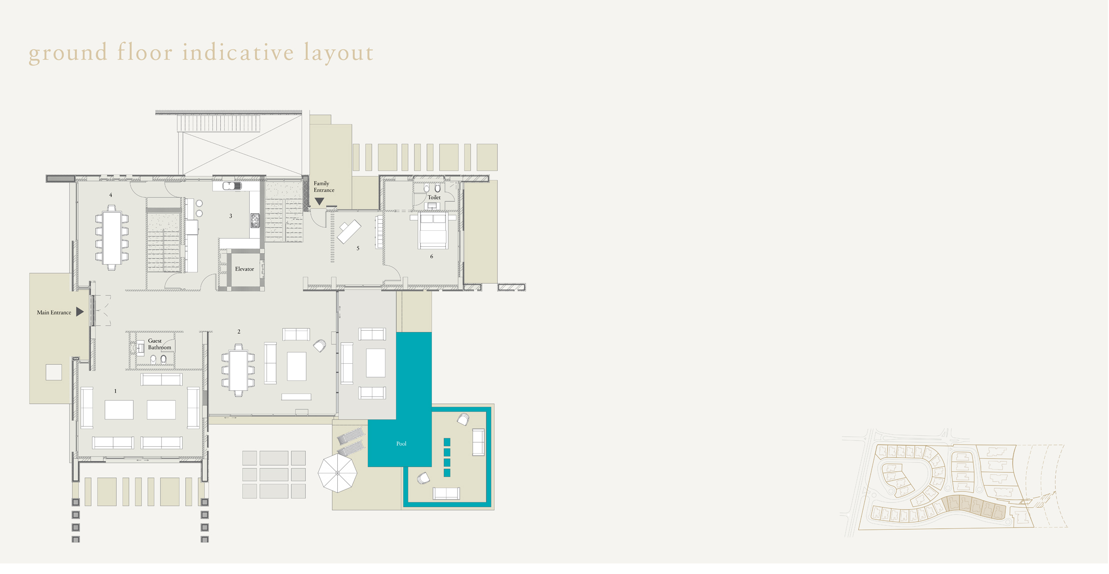Ground Floor Inductive Layout